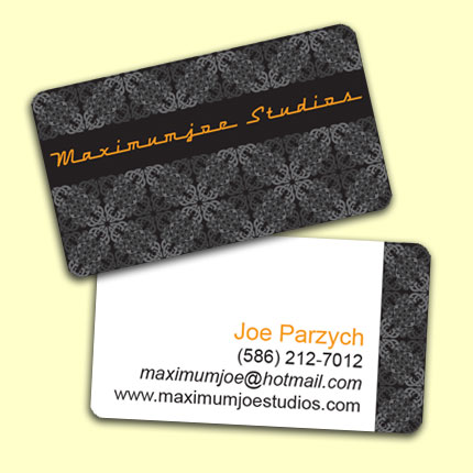 Maximumjoe Studios Business Card